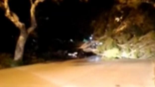 Forte vento in Sicilia, i danni nella zona di Termini Imerese