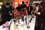 Alcuni dei profumi finalisti del premio 2018 organizzato dall'Accademia del Profumo presentati in occasione della conferenza stampa per illustrare il progetto dedicato alla profumeria selettiva per Cosmoprof 2018, Milano, 28 Novembre 2017