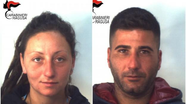 arresti, carabinieri, droga, Sandro Ribaldo, Valeria Mallo, Ragusa, Cronaca