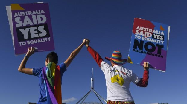 australia matrimoni gay, Sicilia, Mondo