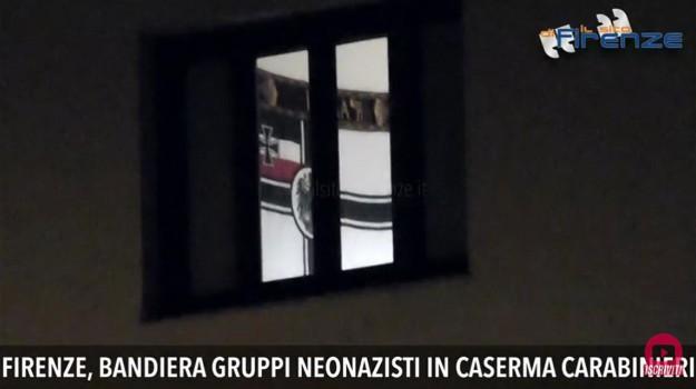 bandiera neonazista, Sicilia, Cronaca