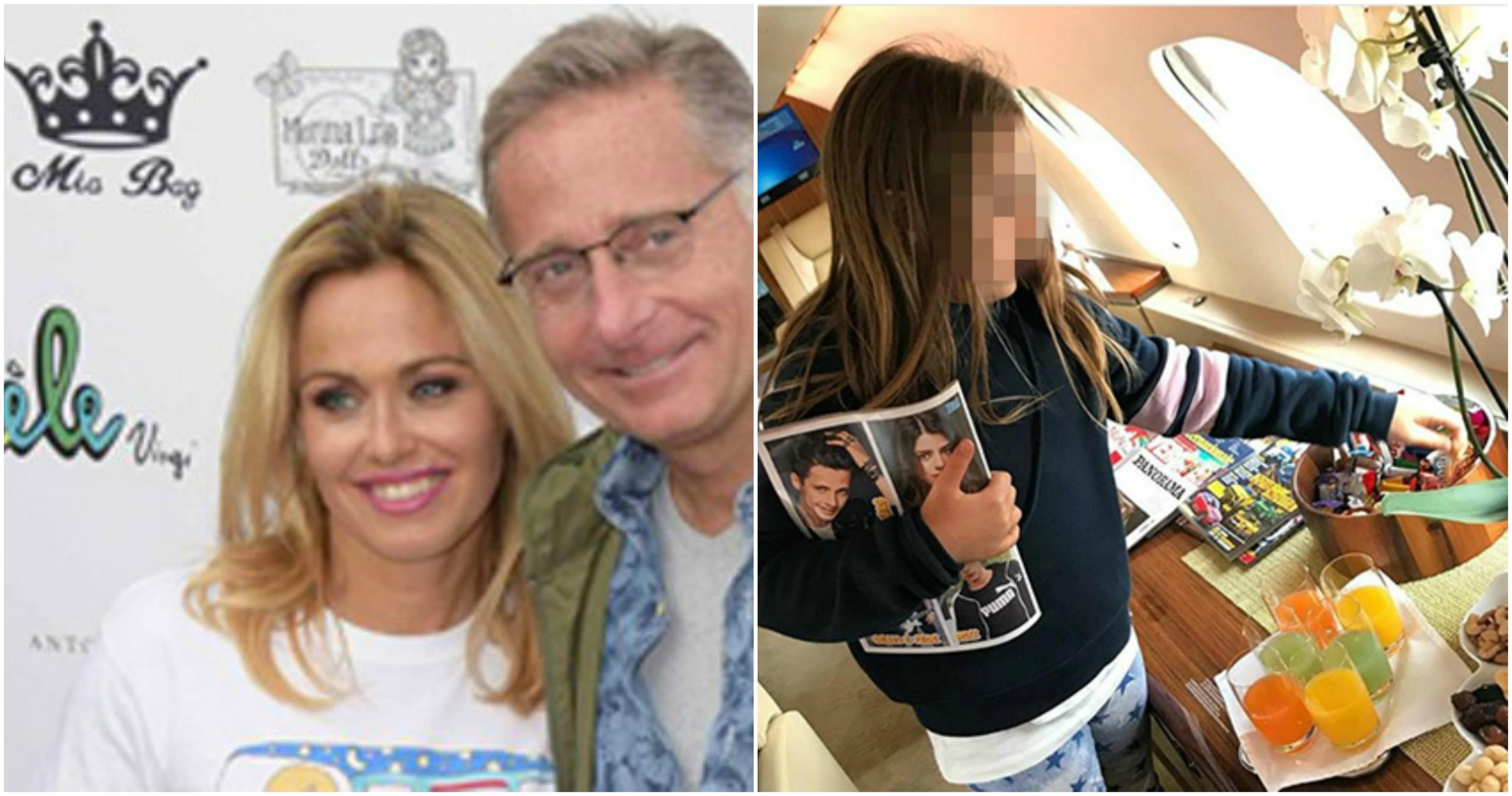 Jet Privato Roma Londra : Pubblica la foto della figlia in un jet privato nuova