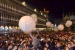 Capodanno, fuochi pirotecnici a Venezia