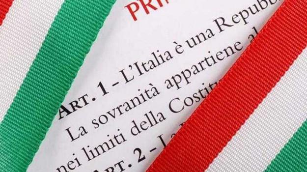costituzione italiana, Sicilia, Politica