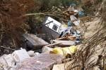 Maxi discarica abusiva scoperta a Milena: rifiuti in un'area di 80 mila metri quadrati