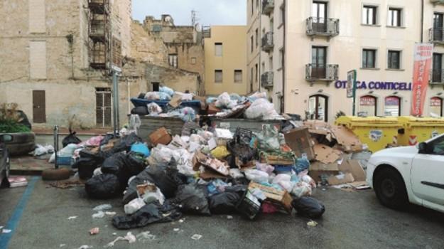 emergenza rifiuti, Trapani, Cronaca