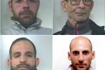 """Droga a Falsomiele, pusher """"tradito"""" dal suo pitbull: 4 arresti - Nomi e foto"""