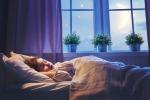 Per dormire bene aprire porta e finestra prima di coricarsi