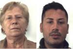 Droga, madre e figlio arrestati per spaccio a Palermo - Foto