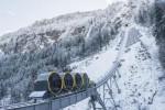 In Svizzera la funicolare più ripida del mondo: 110% di pendenza