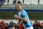 Un gol di Hamsik regala al Napoli il titolo d'inverno - Video