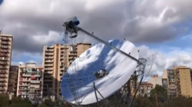 """Nuovo impianto di """"concentrazione solare"""" a Palermo"""