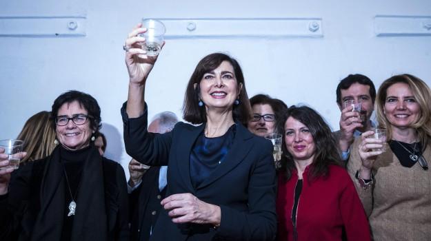 centrosinistra, elezioni politiche 2018, liberi e uguali, Laura Boldrini, Sicilia, Politica
