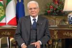"""Il messaggio di fine anno di Mattarella: """"Fiducia nei giovani chiamati a votare"""""""