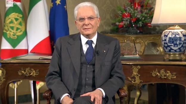 messaggio fine anno mattarella, Sergio Mattarella, Sicilia, Politica