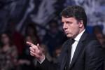Il segretario del Partito Democratico Matteo Renzi