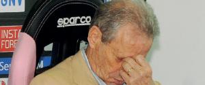Palermo, deferito Zamparini per le dichiarazioni sull'arbitro La Penna