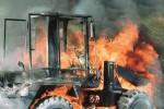 Mezzi agricoli in fiamme a Cassibile, non escluso il dolo