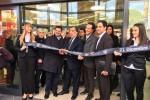 Il sindaco di Palermo, Leoluca Orlando, all'inaugurazione del nuovo punto vendita Lidl