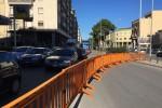 Tutti in coda in via Crispi a Palermo: verifiche sul sottopassaggio, traffico in tilt