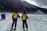 A Piano Battaglia c'è ancora poca neve e l'impianto sciistico resta fermo
