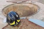 Marsala, cade in un pozzo: salvato dai pompieri