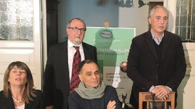 circolo dante alighieri, libro, sant'agata di miltello, Magdi Cristiano Allam, Messina, Cronaca