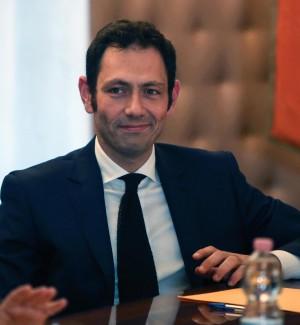 Ruggero Razza, assessore regionale alla Salute