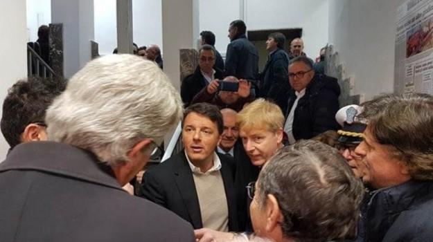 Renzi ad Agrigento, Matteo Renzi, Rosario Livatino, Agrigento, Politica