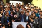 """Il terzino rosanero Rispoli al liceo Galilei per """"Un calcio all'illegalità"""" - Video"""