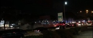 Fumogeni e bombe carta, tifosi del Catania creano il caos a Palermo: traffico in tilt
