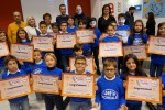 Gli alunni della classe 4° della scuola primaria S. Maria Loreto di Acireale