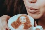"""Ecco il """"Selfieccino"""", il cappuccino con il selfie sopra"""