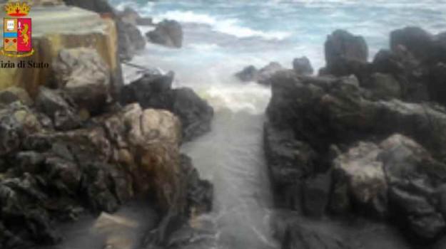 inquinamento mare cefalù, Palermo, Cronaca