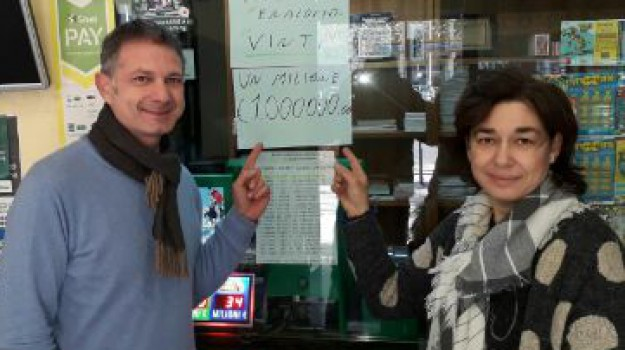 La fortuna bacia Trecase: vinto un milione di euro al Superenalotto