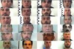 """La """"padrona"""" e i suoi """"fedeli"""": i nomi e i volti dei 25 arrestati nel blitz antimafia - Foto"""