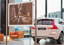 Foto d'autore scattate con il City Safety di Volvo XC60