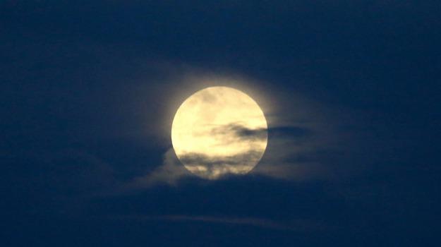 luna a febbraio, Sicilia, Società