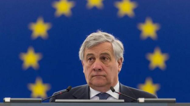 elezioni 2018, elezioni politiche 2018, politiche 2018, Antonio Tajani, Silvio Berlusconi, Sicilia, Politica