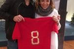 Storica maglia Curi esposta a Perugia
