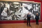 In E-R cartone Guernica per arazzo Onu