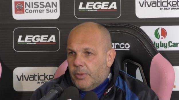 """Verso Spezia-Palermo, Tedino: """"Voglio una squadra con la bava alla bocca"""" - Video"""