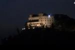 Torna ad essere illuminato il castello Utveggio di Palermo - Video