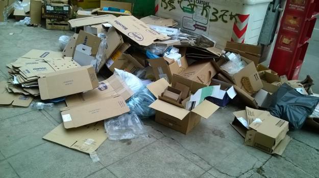 cartone, differenziata, rifiuti, Messina, Cronaca