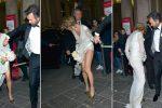 Matrimonio con imprevisto per Cracco: alla moglie si strappa il vestito - Foto