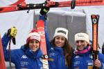 Storica discesa in Austria, tre azzurre sul podio