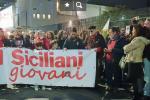 Catania, un corteo silenzioso da piazza Roma nel ricordo di Pippo Fava