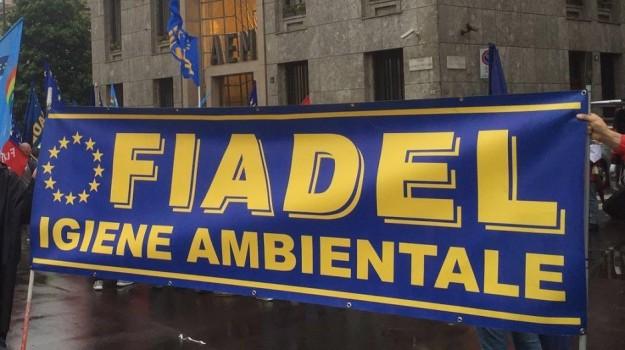 Fiadel, raccolta differenziata, Palermo, Cronaca