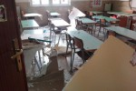 Crollo in una scuola di Bagheria: tutte le foto