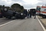 Sangue sulla Statale 113, auto si ribalta Muore un'anziana, due figli in ospedale